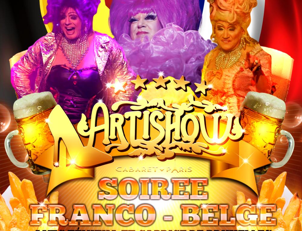 LA SOIRÉE BELGE LE 16 ET 17 AVRIL 2016