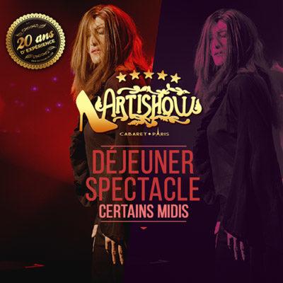 B-DÉJEUNER SPECTACLE CERTAINS MIDIS