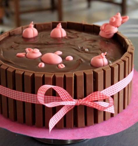 Gâteau Danniversaire Le Craquant Chocolat 4 Pers